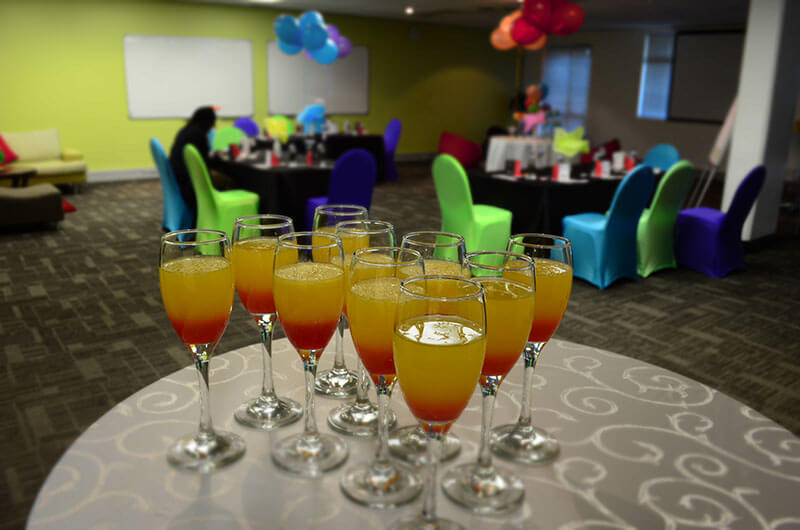 Focus Rooms Events Venue - Drinks are served
