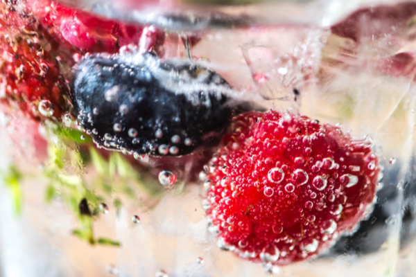 Berry Refreshing Infused Water | Focus Rooms Conference Venue