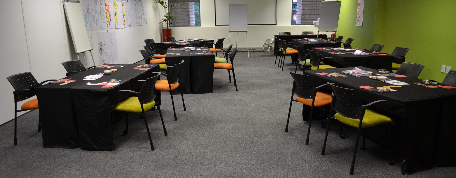 Enterprise Room - Training Room and Meetings   Focus Rooms