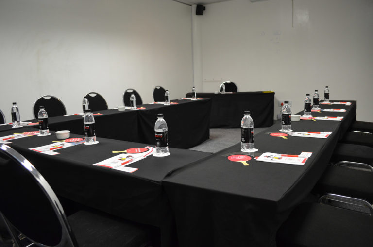 Endeavour - Private Meeting Room | Focus Rooms | Water Bottles