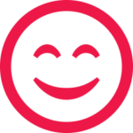 Testimonial | Smiley Icon | Focus Rooms Conference Venue