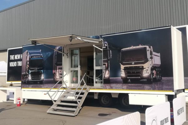 Volvo Truck Launch Event - Testing Station | Focus Rooms